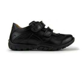Froddo Sporty Black School Shoes