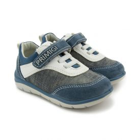 Primigi Boys' Sneakers in Denim Blue