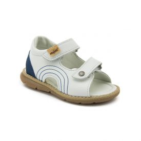 Primigi Boys' Leather Sandals in White