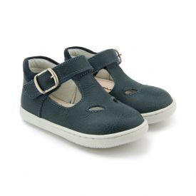Primigi Boys' First Walking T-bar Shoes