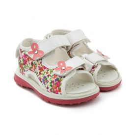 Primigi Girls' Sandals with Flower Print